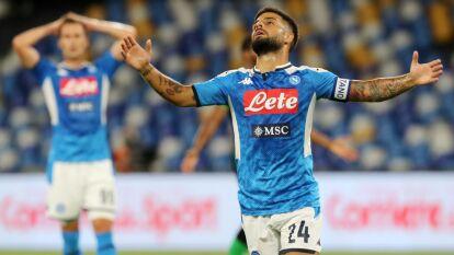 Napoli venció al Sassuolo en la J36 de la Serie A | Con goles de Hysaj y Allan, los de Gattuso se llevaron la victoria 2-0; a Sassuolo le anularon cuatro tantos.