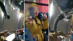 Ella es 'Lady Cubrebocas Metepec', insultó a una trabajadora de la salud y hubo hasta jalones de cabello