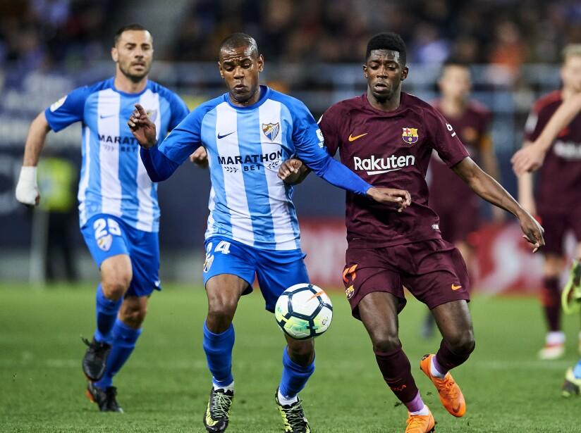 Malaga v Barcelona - La Liga