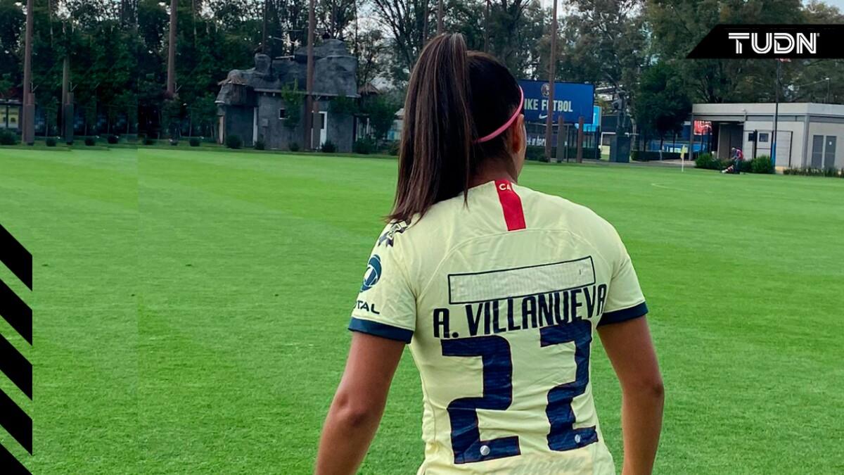 Alexia Villanueva de América, sin patrocinadores en la espalda - TUDN MEX