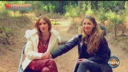Andrea Escalona y Michelle Renaud recuerdan que siempre van a necesitar a sus mamás