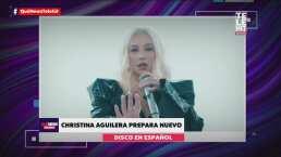 Christina Aguilera prepara su segundo disco en español, a 21 años de 'Mi Reflejo'