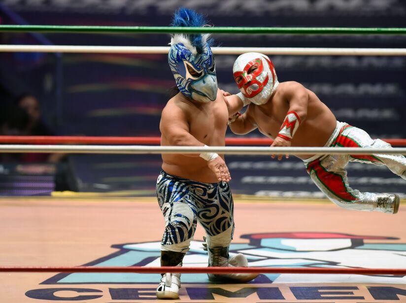 TOPSHOT-MEXICO-WRESTLING-DWARVES