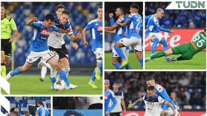 Empate 2-2 con goles de Maksimović y Milik por el Napoli; de Freuler e Iličić po el Atalanta.