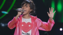 Kymberly Chavarría sorprendió en La Voz Kids