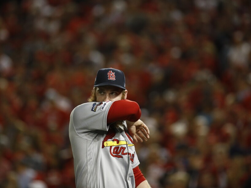 NLCS Cardinals Nationals Baseball
