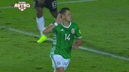 ¡'Chicharito style' Revive uno de sus goles que parecían imposibles