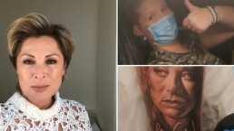 Video: Esta joven es tan fan de Lety Calderón que hasta se tatuó el rostro de la actriz en su brazo