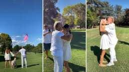 ¡Pintan el cielo de rosa!: Gianluca Vacchi y su novia revelan que serán padres de una niña