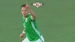 ¡Histórico! Así se convirtió 'Chicharito' en el máximo goleador del Tri