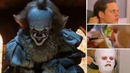 Así fue cómo maquillaron a Bill Skarsgård para transformarse en Pennywise de 'It'