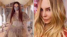 Belinda no aguantó el pelirrojo y se hizo nuevo cambio de look: 'Nunca había estado tan rubia'