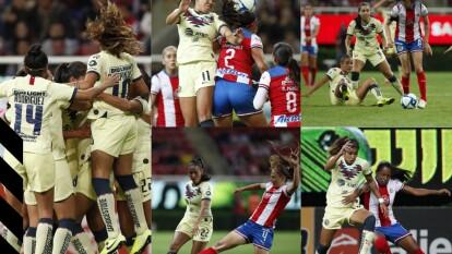 Con goles de Daniela Espinosa y Jennifer Muñoz, las águilas se imponen 0-2 en su visita a las Chivas.