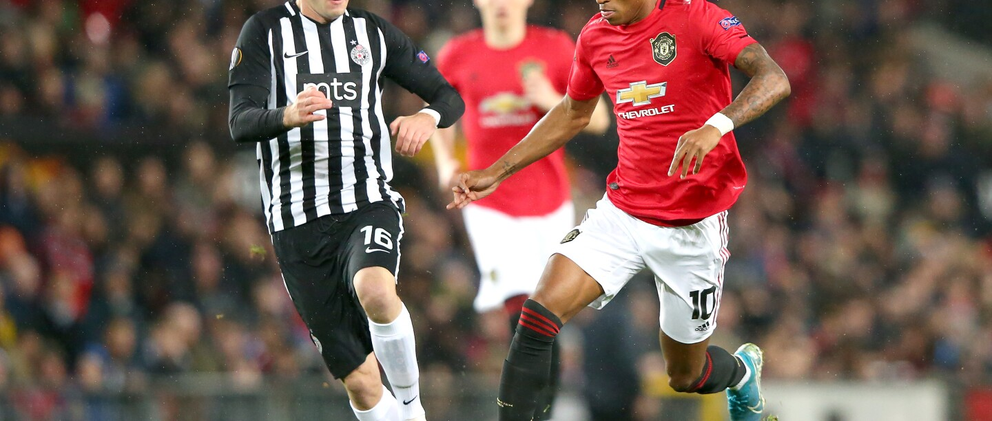 Manchester United v Partizan: Group L - UEFA Europa League