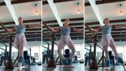 Alejandra Guzmán demuestra que también es buena para el ballet (VIDEO)