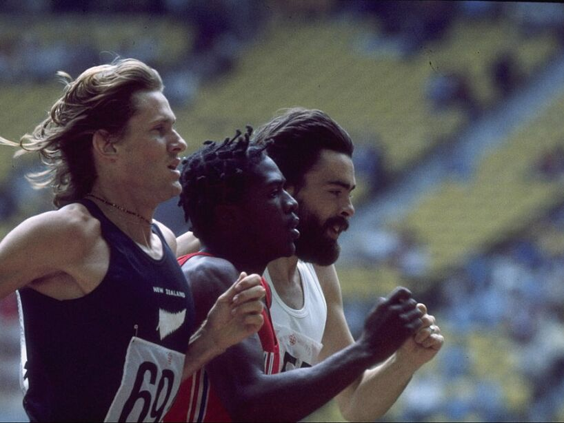 JOHN WALKER OF NEW ZEALAND 1976 Olympics