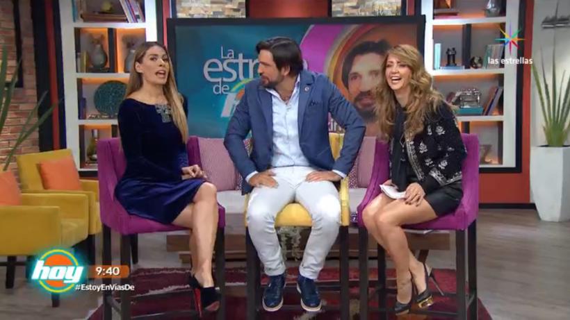 El 'Kikín' Fonseca llegó con estrella a 'hoy'