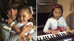 Las tiernas mañanitas que le cantó Rafaela a su abuela Verónica Castro