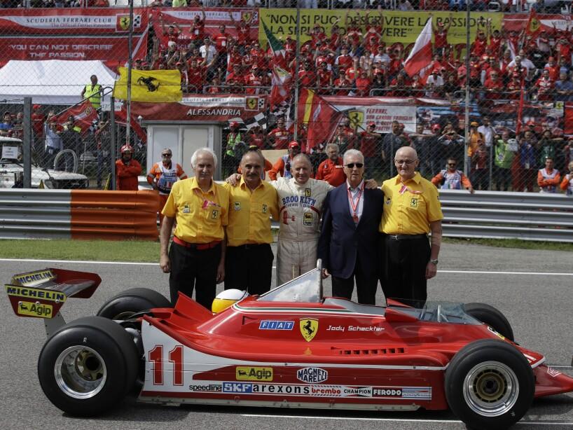 Jody Scheckter, Piero Ferrari