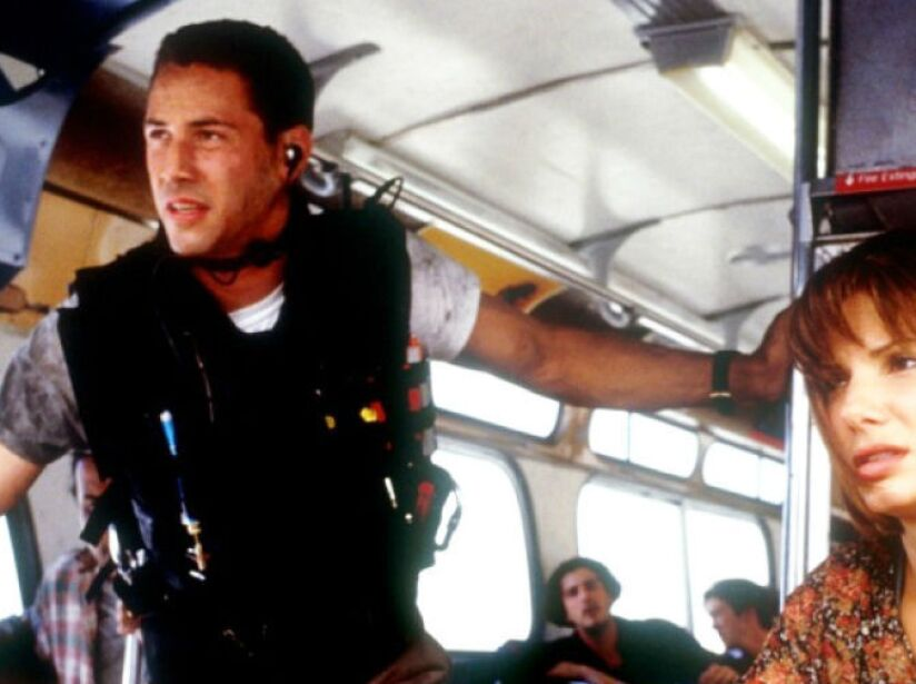 Speed (1994), cinta que protagonizó con Sandra Bullock, recaudó 350 millones de dólares en todo el mundo.