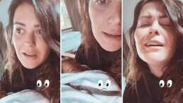 'Ya me desesperé horrible': Mariana Echeverría no logra dormir a Lucca a menos que sea en sus brazos