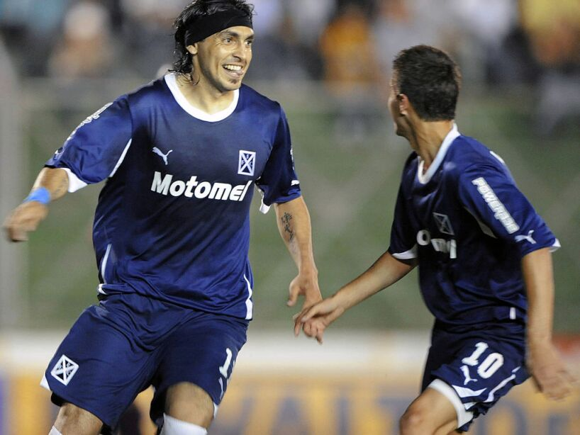 Argentinian Independiente's Andres Silve