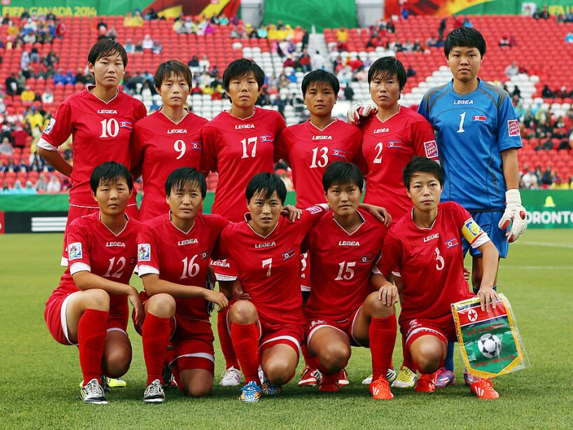 Korea DPR v USA: Quarter Final - FIFA U-20 Women's World Cup Canada 2014