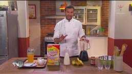 Cocinando con Pablo Montero platillos para solteros