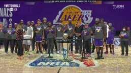 ¡Regresan a las Finales! Lakers lo hace por primera vez en diez años