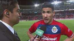 """Uriel Antuna tiene claro a qué viene a Chivas: """"Quedar campeón"""""""