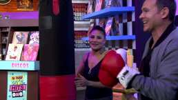 "Dgeneraciones: Alan Tacher se pone los guantes para que ""La Barbie"" le enseñe a boxear"