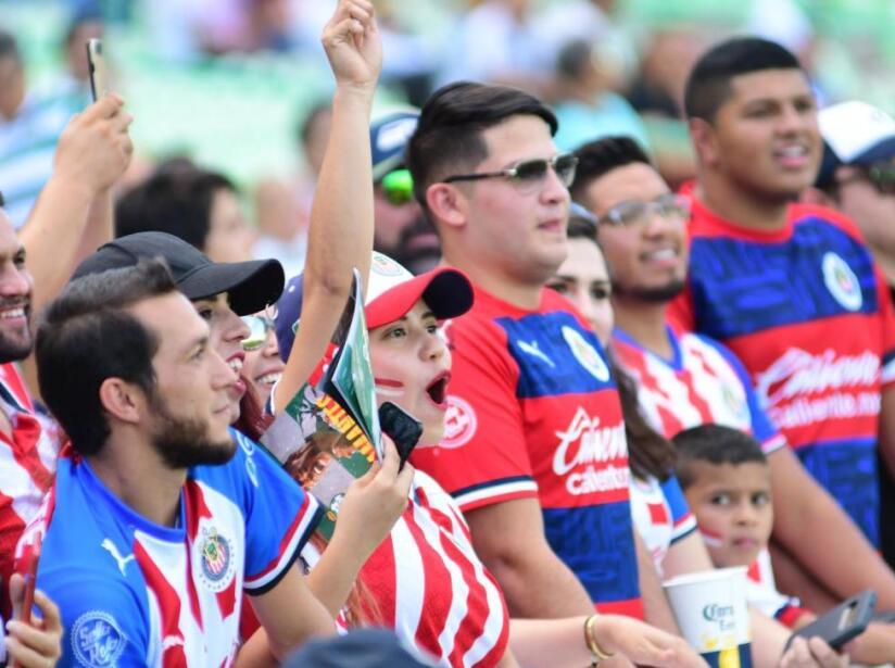 Santos vs Chivas en imágenes. Apertura 2019