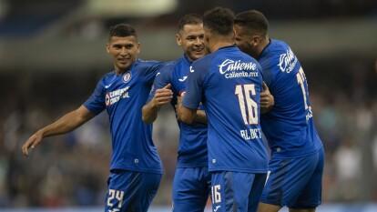 Con doblete de Milton Craglio y gol de Pablo Aguilar, Cruz Azul gana en el Azteca y dice adiós al Apertura 2019.