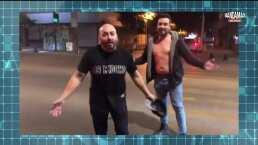 Lupillo Rivera baila 'La Chona' tras perder una apuesta en el beisbol