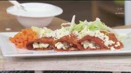 RECETA: Enchiladas mineras