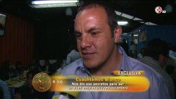 Cuauhtémoc Blanco inauguró restaurante de mariscos