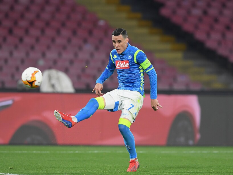 S.S.C. Napoli v Red Bull Salzburg - UEFA Europa League Round of 16: First Leg