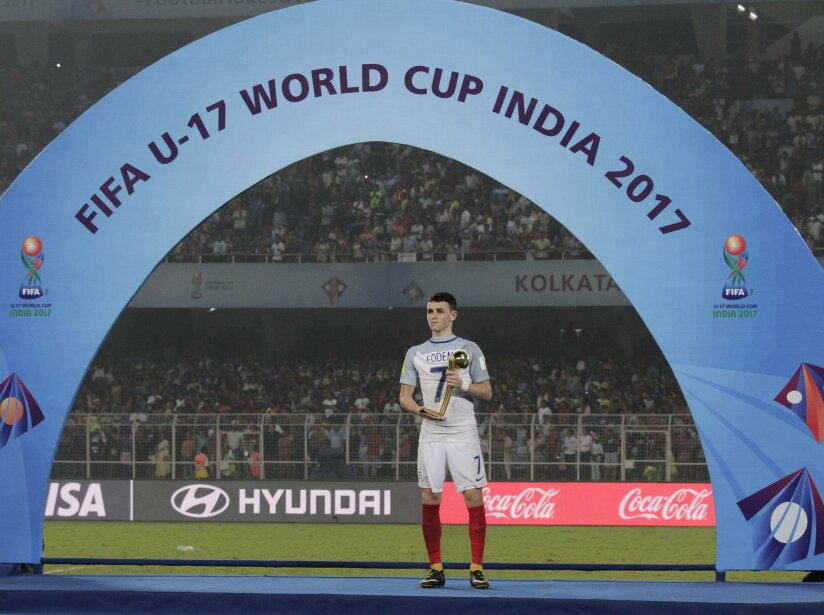 India Under 17 WCup England Spain