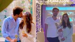 Paulina Goto cumplió dos años con su novio y le preparó una sorpresa que parece sacada de una película