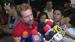 Gabriel Soto responde a los rumores de un supuesto romance entre Irina Baeva y Sebastián Rulli