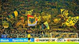 El Muro Amarillo, la barra del Dortmund que amenazará al Barça