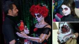 Alessandra Rosaldo y su hija Aitana celebran el Día de Muertos con asombroso maquillaje de Catrina