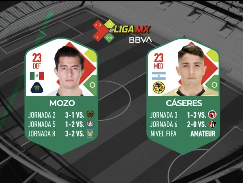 Pumas vs América, eLiga MX, 1.png