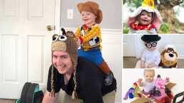 El papá que crea disfraces inspirados en Disney para su hijo