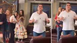 Livia Brito y José Ron se burlan de Eduardo Santamarina tras hacerle divertida broma