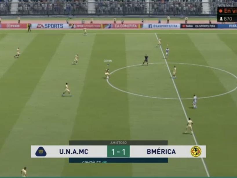Pumas vs América, eLiga MX, 16.png
