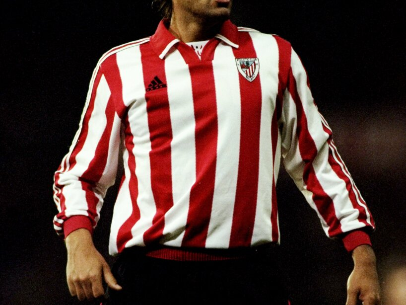 Ismael Urzaiz of Athletic Bilbao