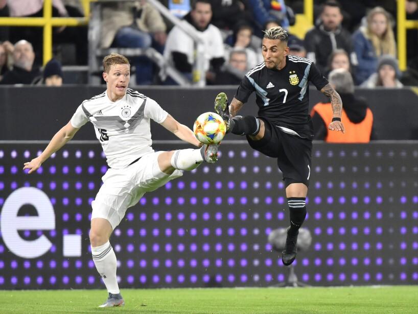 APTOPIX Germany Argentina Soccer