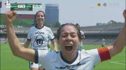 ¡Golazo! Dania Padilla marca el 1-0 de Pumas con un remate al ángulo