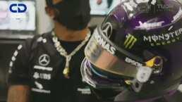 Hamilton lucha contra el racismo con su casco
